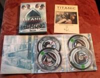 TITANIC BLOOD & STEEL  - 4 DVDS TV SERIE