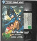 Batman Forever  VHS Warner  (#1)