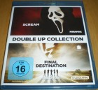 DOUBLE UP COLLECTION: SCREAM & FINAL DESTINATION  BLU-RAY