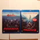 Piranha 1+2 Blu ray