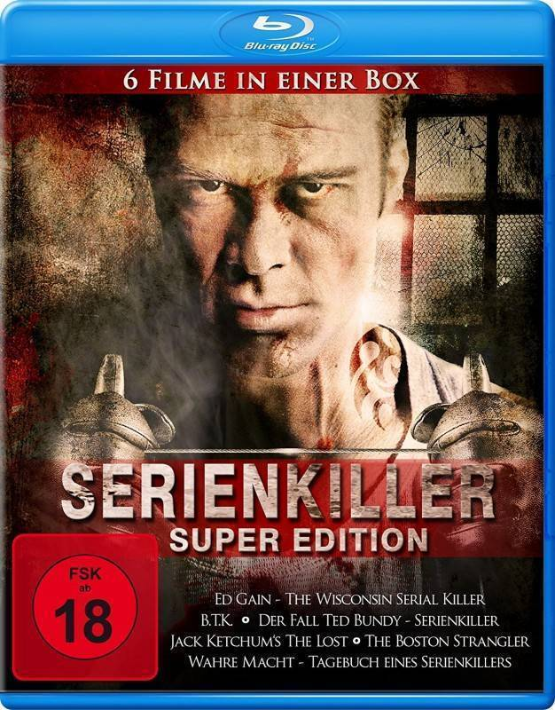 Serienkiller Super Edition (6 Filme Collection)[Blu-ray] OVP
