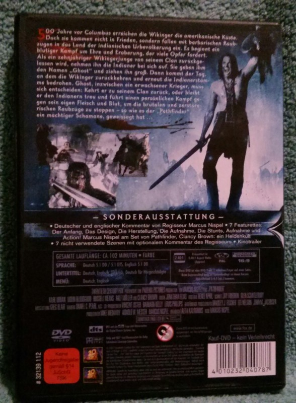 Pathfinder Fährte des Kriegers Dvd Extended version