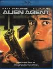 ALIEN AGENT Blu-ray - Mark Dacascos Billy Zane SciFi Action