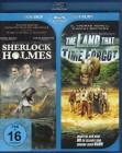 SHERLOCK HOLMES + THE LAND THAT TIME FORGOT Blu-ray 2 Filme