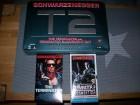 Terminator 1 + 2 VHS Box -no Rambo Rocky UFA Bavaria Glasbox