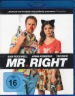 MR. RIGHT Blu-ray - Sam Rockwell Anna Kendruck - Klasse!