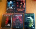 DVD -Hellraiser 4,5,6,7,8 - Uncut