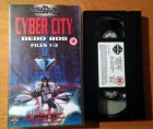 VHS - Cyber City OEDO 808 1-3 - Uncut