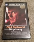 DIRTY HARRY Clint Eastwood - VHS