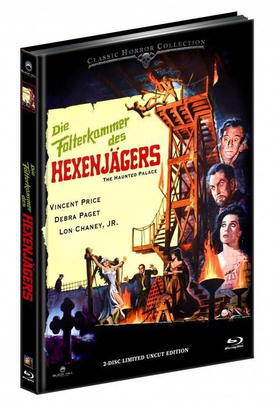 Die Folterkammer des Hexenjägers - DVD/BD Mediabook B LE OVP