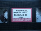 14 Girls of Love !    ...  VHS !!!   Ohne Cover !!!