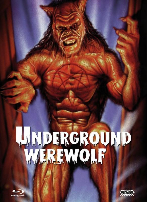 UNDERGROUND WEREWOLF - DVD/BD Mediabook B OVP
