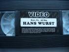 Hans Wurst - der etwas andere Metzger ...VHS ohne Cover !!!