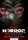 3x Horror Collection Uncut - DVD