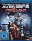 AVENGERS GRIMM Blu-ray - Asylum Superhelden Fantasy Märchen