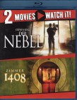 DER NEBEL + ZIMMER 1408 - 2x Blu-ray Stephen King Horror
