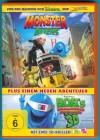 Monster und Aliens + Bonus-Film (inkl. 2 3D-Brillen) NEUWERT