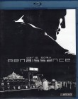 RENAISSANCE Blu-ray - SciFi Action Animation Sin City Stil