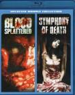 BLOOD SPLATTERED + SYMPHONY OF DEATH Blu-ray 2 Filme
