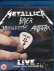 METALLICA SLAYER MEGADETH ANTHRAX - THE BIG 4 Blu-ray