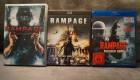 Rampage Trilogie DVD + Bluray - Amoklauf Rampage Teil 1-3