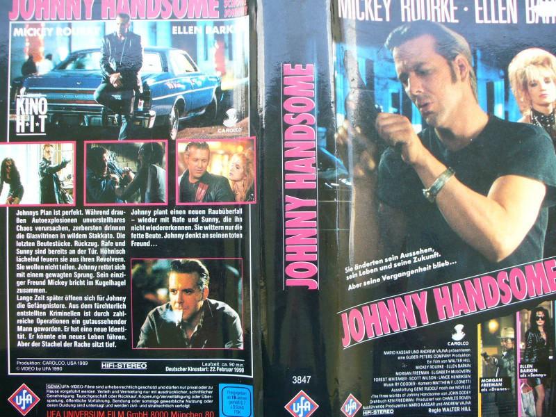 Johnny Handsome ... Der schöne Johnny ...  Mickey Rourke