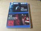 The Descent 1+2 - Uncut - 2 DVD Set