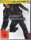 NINJA ASSASSIN Blu-ray - Action Hammer Rain Sho Kosugi