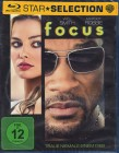 FOCUS Blu-ray - Will Smith Thriller Margot Robbie