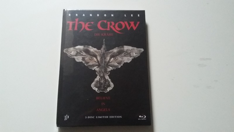 The Crow Mediabook! Cover B! RAR + OOP! 36 / 333