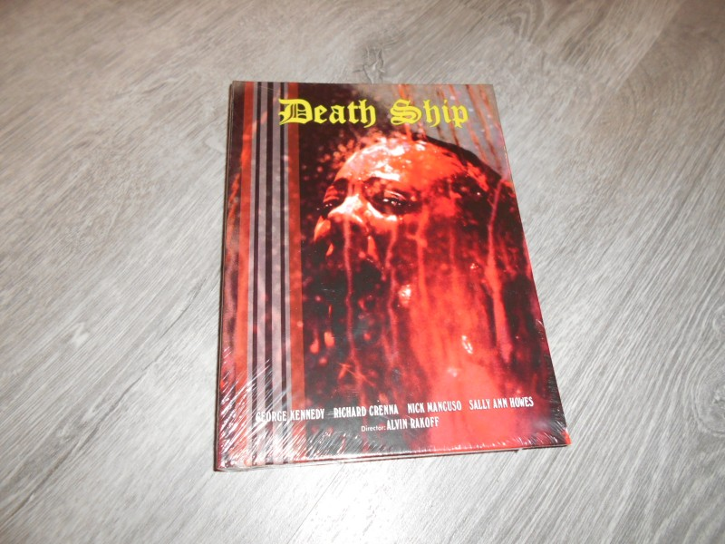DEATH SHIP - X Rated Mediabook - Blu Ray - UNCUT ovp/neu