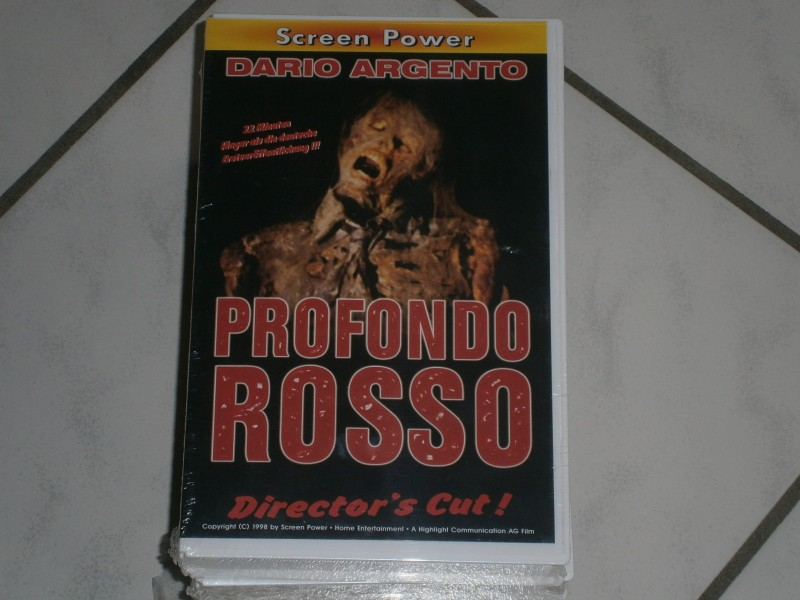 "Profondo Rosso "" Screen Power"" Neu"