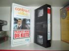 VHS - Die Klette - Franco Nero . ITT Glasbox