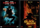 Black Mask 1 & 2 - Tsui Hark, Jet Li, Anthony Wong - 2 DVDs
