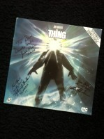 The Thing Das Ding Laserdisc signiert