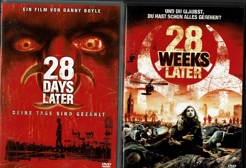 28 Days Later & 28 Weeks Later - 2 DVDs