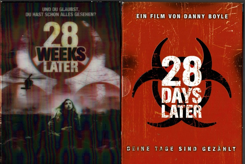 28 Days Later (Schuber) + 28 Weeks Later (Hologramm-Cover)