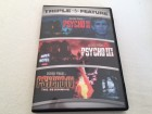 PSYCHO II - PSYCHO III - PSYCHO IV - Triple Feature DVD RC 1