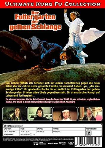 Der Foltergarten der gelben Schlange DVD OVP