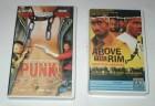 PUNK! + ABOVE THE RIM - 2 VHS Kassetten