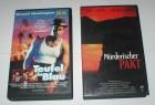 TEUFEL IN BLAU + MÖRDERISCHER PAKT - 2 VHS Kassetten