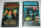 WALL STREET + CRIME STORY 4  -  2 VHS Kassetten