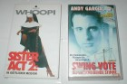 SISTER ACT 2 + SWING VOTE - 2 VHS Kassetten