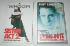 SISTER ACT 2 + SWING VOTE - 2 VHS Kassetten
