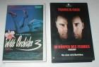 WILDE ORCHIDEE  3 + IM KÖRPER DES FEINDES - 2 VHS Kassetten