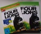 Four Lions - Mediabook - 1 Blu Ray,2 DVD, 4 Simkarten