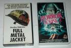 FULL METAL JACKET + HORROR HOUSE 2 - 2 VHS Kassetten