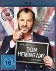 DOM HEMINGWAY Blu-ray - klasse Brit Gauner Komödie
