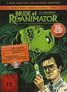 Bride of Re Animator / DVD & BD - MB - Lim Ed. UNCUT - Neu!