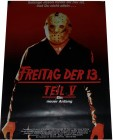 FREITAG DER 13. teil V - Poster 42x29,5 cm